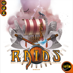 Raids - The Dice Owl - Board Game