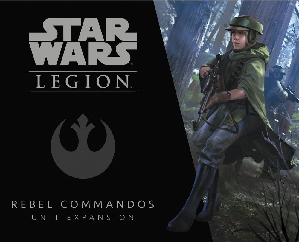 Star Wars: Legion – Rebel Commandos Unit Expansion - The Dice Owl