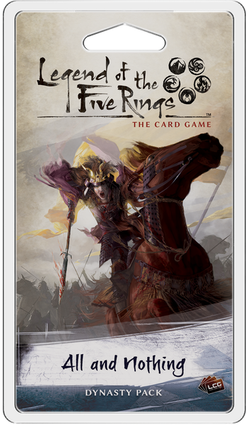 Legend of the Five Rings: The Card Game – All and Nothing (Pre-Order)