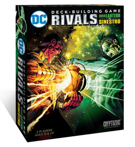 DC Comics Deck-Building Game: Rivals – Green Lantern vs Sinestro - Board Game - The Dice Owl
