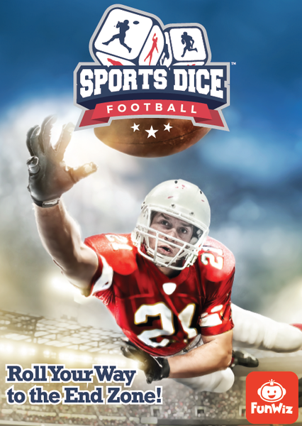 Sports Dice: Football  - the dice owl