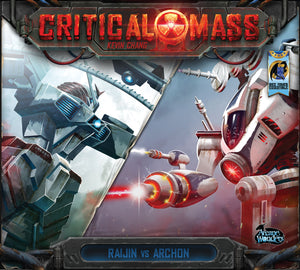 Critical Mass: Raijin vs Archon - Board Game - The Dice Owl