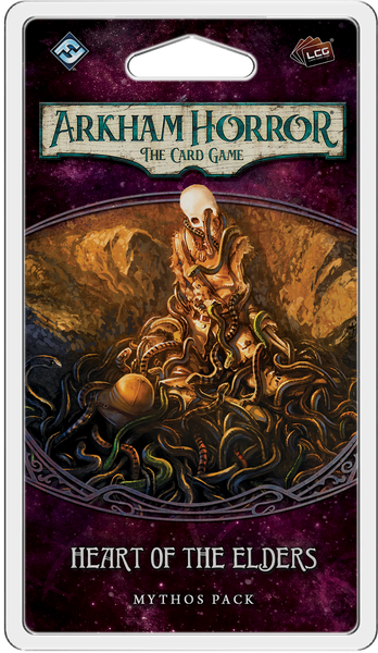 Arkham Horror: The Card Game – Heart of the Elders: Mythos Pack - Board Game - The Dice Owl