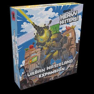 GKR: Heavy Hitters – Urban Wasteland Expansion - The Dice Owl