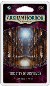 Arkham Horror: The Card Game – The City of Archives: Mythos Pack - The Dice Owl