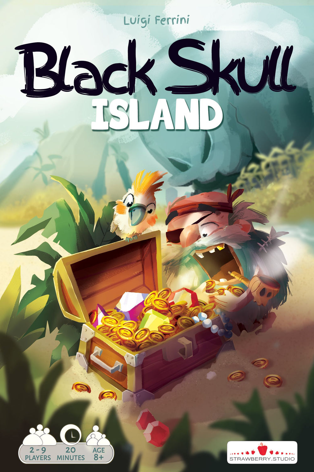 Black Skull Island - Board Game - The Dice Owl