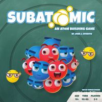 Subatomic: An Atom Building Game - The Dice Owl