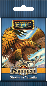 Epic Card Game: Pantheon – Shadya vs Valentia - The Dice Owl