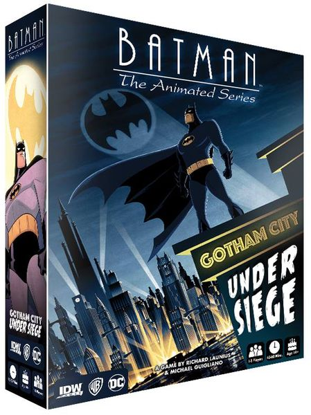 Batman: The Animated Series – Gotham City Under Siege - Board Game - The Dice Owl