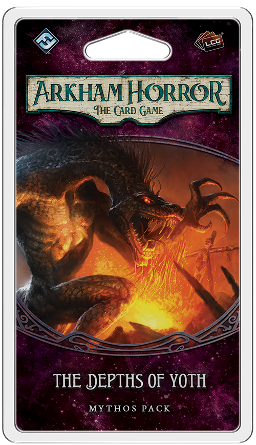 Arkham Horror: The Card Game – The Depths of Yoth: Mythos Pack - Board Game - The Dice Owl