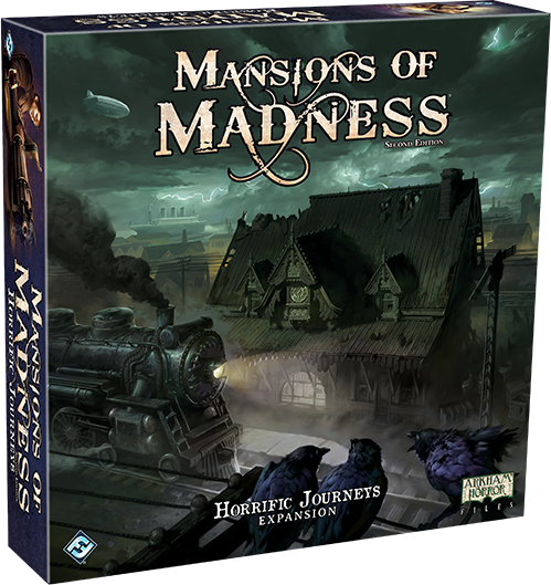 Mansions of Madness: Second Edition – Horrific Journeys - The Dice Owl