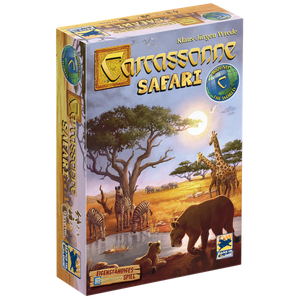 Carcassonne Safari | The Dice Owl