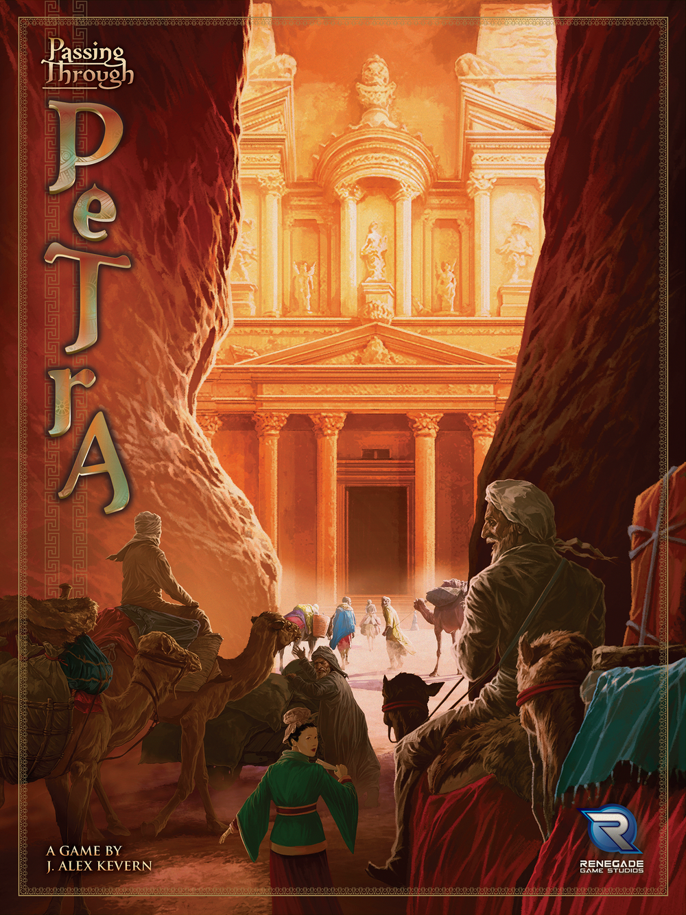 Passing Through Petra - The Dice Owl
