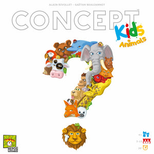 Concept Kids: Animals (FR) - Board Game - The Dice Owl