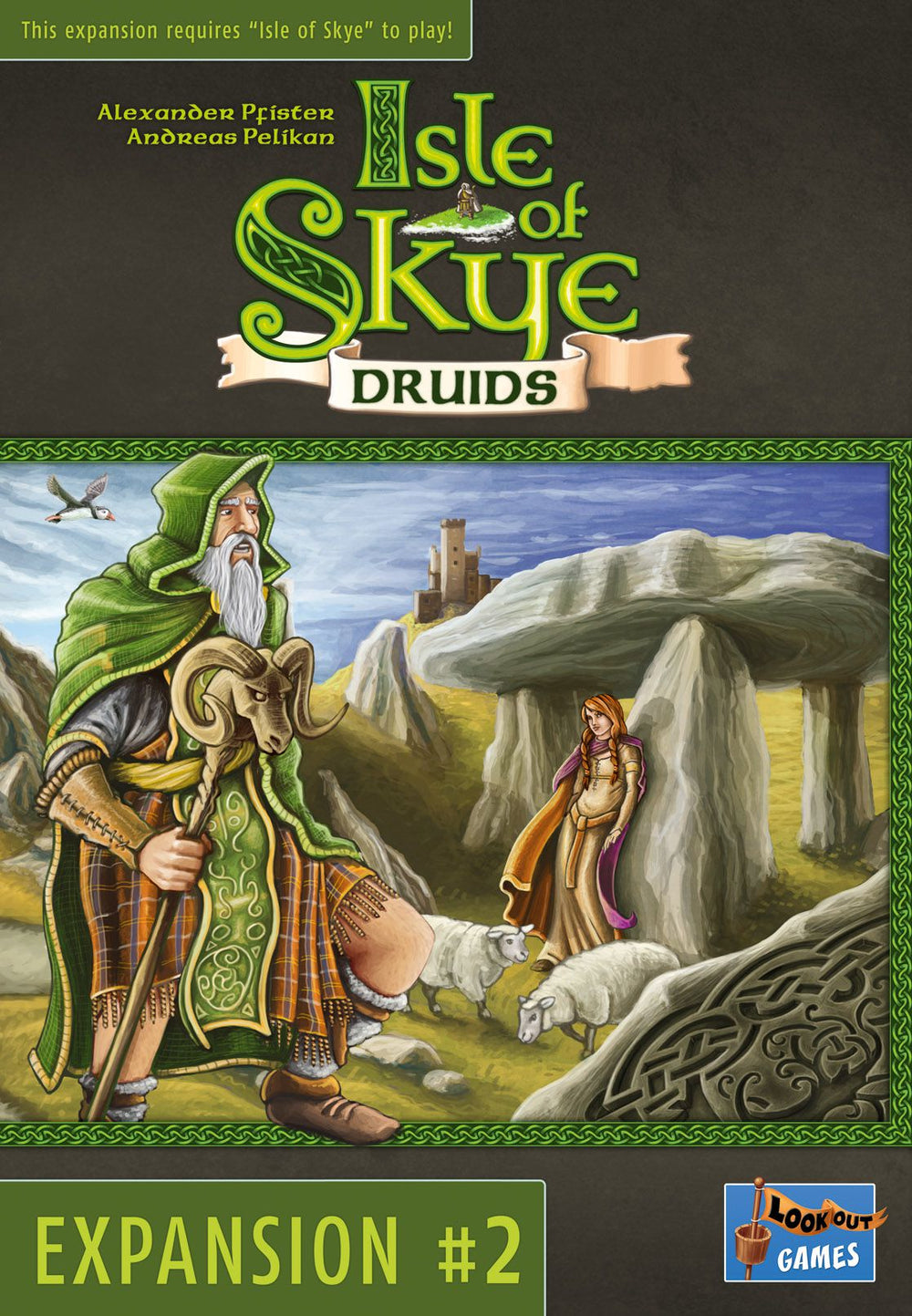 Isle of Skye: Druids - The Dice Owl