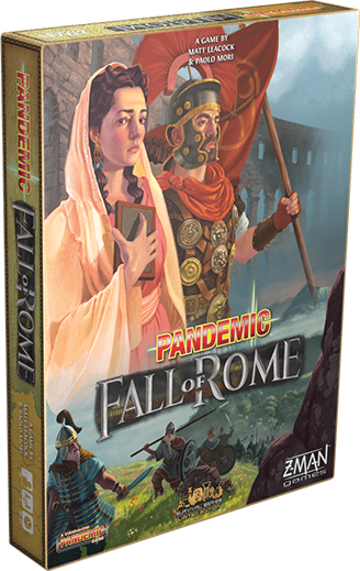 Pandemic: Fall of Rome - The Dice Owl