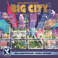 Big City: 20th Anniversary Jumbo Edition! - Board Game - The Dice Owl