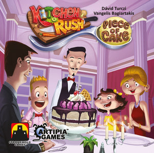 Kitchen Rush: Piece of Cake - The Dice Owl