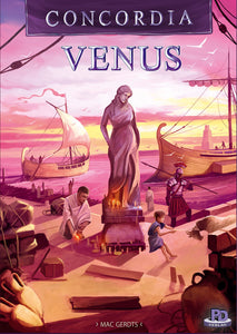 Concordia Venus - Board Game - The Dice Owl