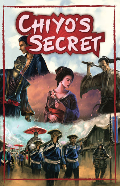 Chiyo's Secret (Pre-Order) - Board Game - The Dice Owl