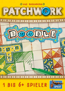 Patchwork Doodle - The Dice Owl