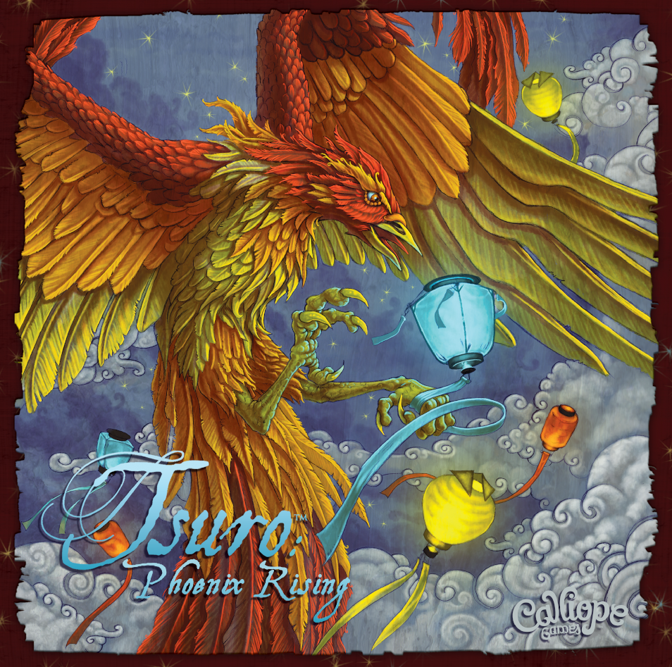 Tsuro: Phoenix Rising - The Dice Owl