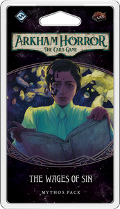 Arkham Horror: The Card Game – The Wages of Sin: Mythos Pack - Board Game - The Dice Owl