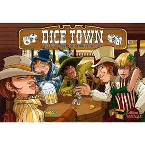 Dice Town (FR) - Board Game - The Dice Owl