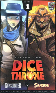 Dice Throne: Season 2 - Gunslinger v. Samurai - the dice owl