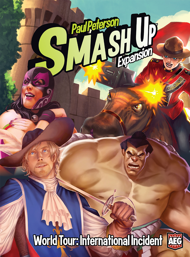 Smash Up: World Tour – International Incident - The Dice Owl