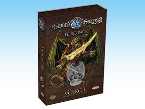 Sword & Sorcery: Hero Pack – Volkor Dragonheart/Dragonflame - The Dice Owl