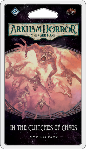 Arkham Horror: The Card Game – In The Clutches of Chaos: Mythos Pack - Board Game - The Dice Owl