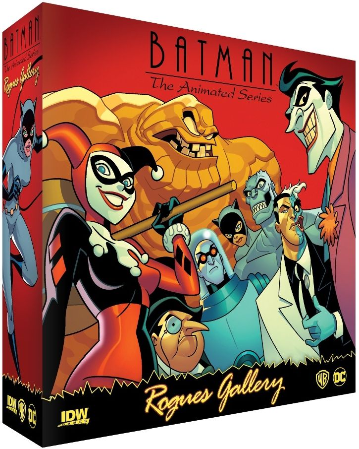 Batman: The Animated Series – Rogues Gallery (Pre-Order) - Board Game - The Dice Owl