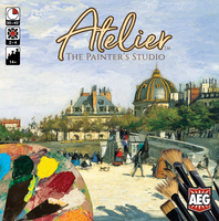 Atelier: The Painter's Studio - Board Game - The Dice Owl
