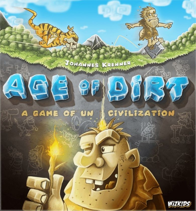 Age of Dirt: A Game of Uncivilization (Pre-Order) - Board Game - The Dice Owl