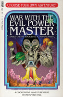 Choose Your Own Adventure: War with the Evil Power Master - Board Game - The Dice Owl