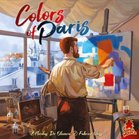 Colors of Paris - Board Game - The Dice Owl