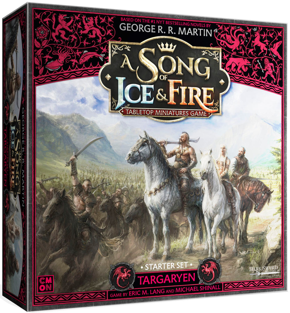 A Song of Ice & Fire: Tabletop Miniatures Game – Targaryen Starter Set (Pre-Order)