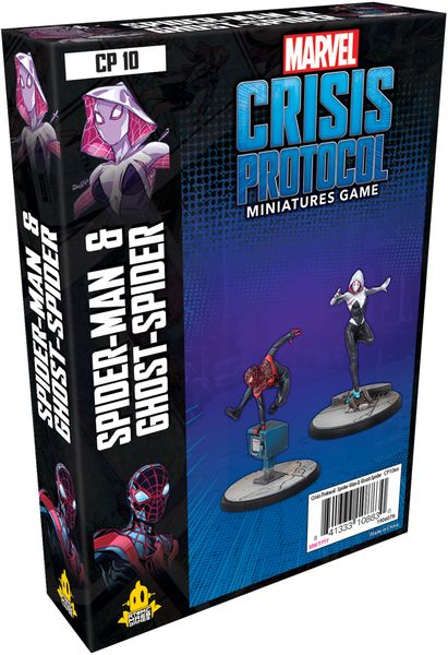 Marvel: Crisis Protocol – Ghost-Spider & Spider-Man - The Dice Owl