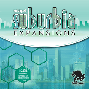 Suburbia: Expansions (2nd Edition)