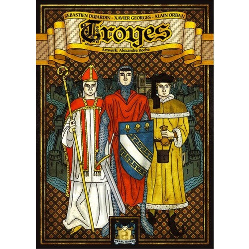 Troyes - Board Game - The Dice Owl