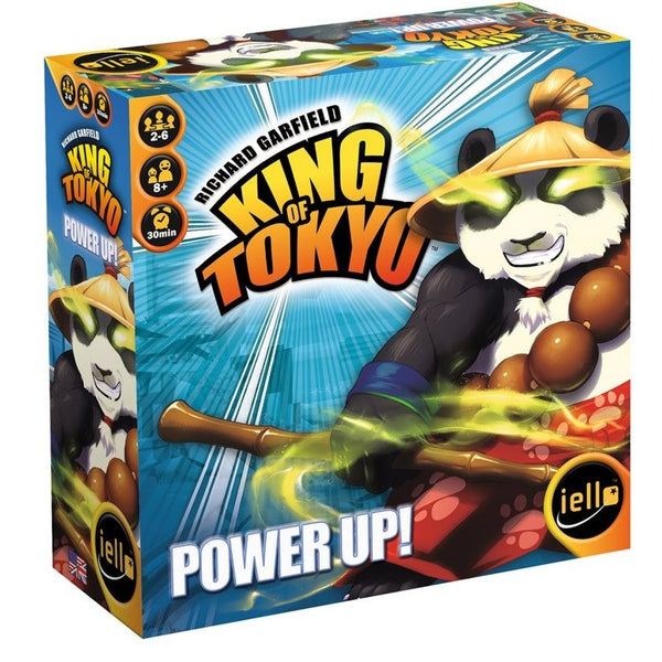 King of Tokyo: Power Up! 2nd Edition - Board Game - The Dice Owl
