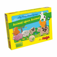 My Very First Games - Animal upon Animal - The Dice Owl - Board Game