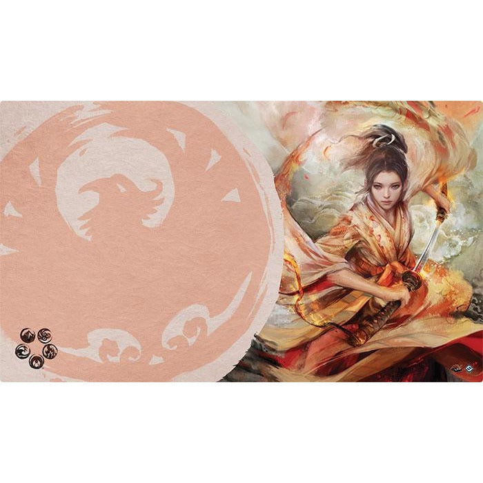 Legend of the Five Rings: The Soul of Shiba Playmat