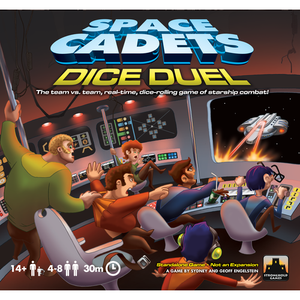 Space Cadets: Dice Duel - Board Game - The Dice Owl