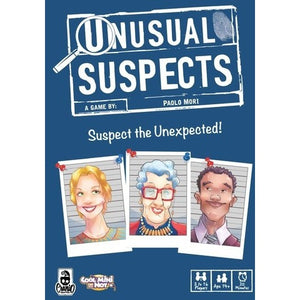 Unusual Suspects - Board Game - The Dice Owl