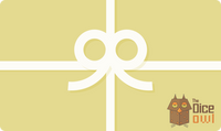 Gift Card - Carte Cadeau - The Dice Owl