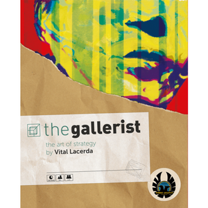 The Gallerist - Board Game - The Dice Owl