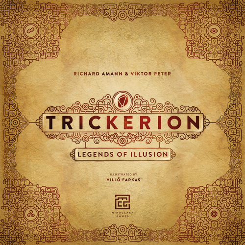 Trickerion: Legends of Illusion - Board Game - The Dice Owl