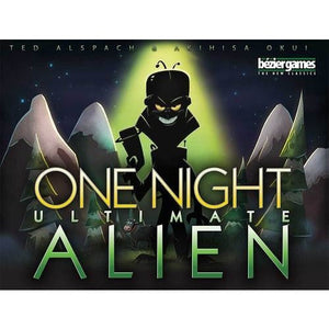 One Night Ultimate Alien - Board Game - The Dice Owl